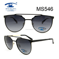 2017 Best Design New Style Unisex Metal Sunglasses (MS546)