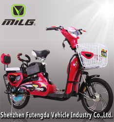 romai electric scooter Made in China Best seller MiLG-JML Electric bicycle M 6 with CBS (Combi Braking System) (JML)