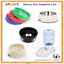 pet product plastic pet water fountain stainless steel dog bowl automatic pet feeder dog feeder