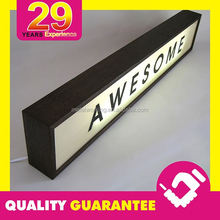 Outdoor Hinged Aluminum Lightbox Frame Light Box