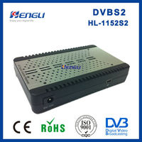 high quanlity dvb-s2 MPEG4 H.264 FTA digital mini satellite receiver mp4