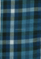 100% COTTON INDIGO YARN DYED SHIRT FABRIC FOR H&M ZARA