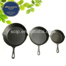 FDA certification preseasoned cast iron skillets