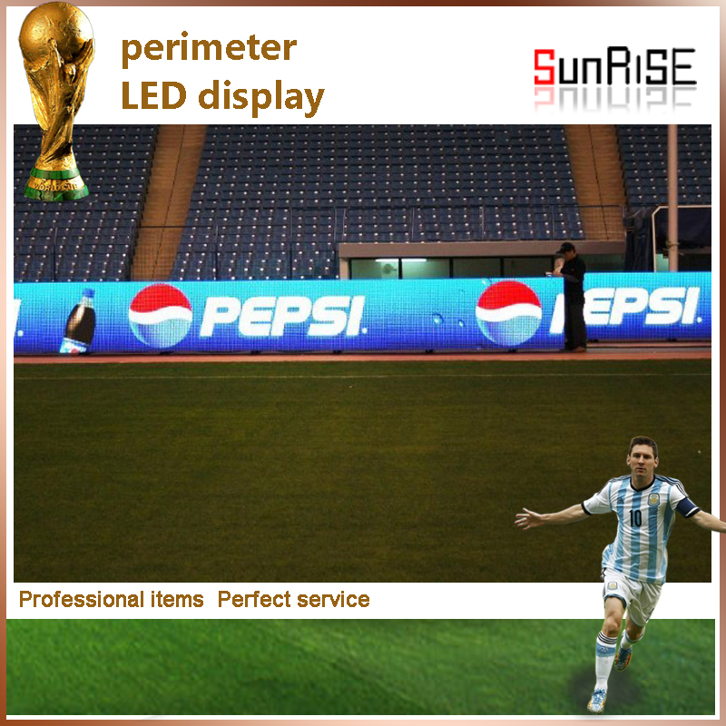 Sunrise best offer for the world best selling electronic products full color football stadium banner led display outdoor