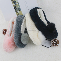 Winter Ladies Soft Soles Home Slippers