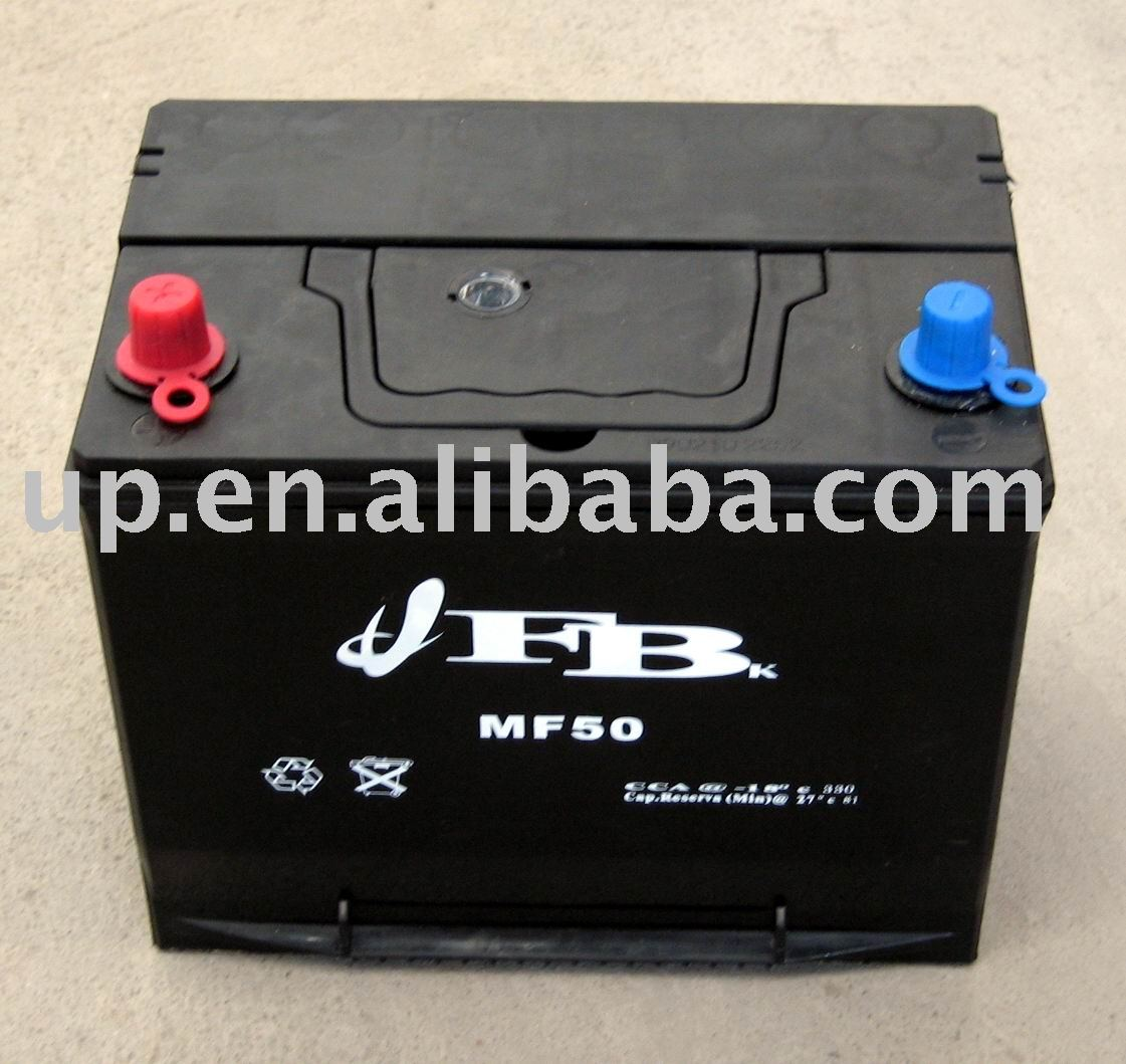 MFN50 12V 50AH Car battery