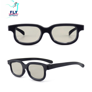 Polarized 3D Glasses For Movie TV DVD LCD Video theatre active 3D Glasses