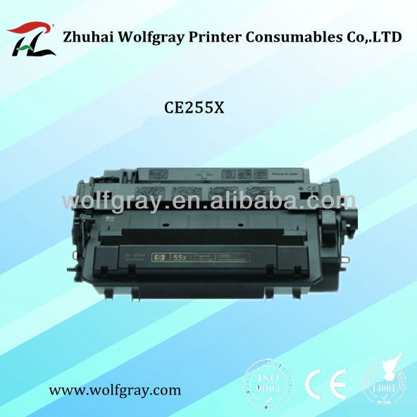 Supply compatible toner cartridge for HP CE255X