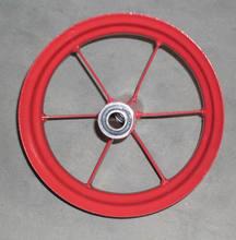 rubber wheel and PU foam wheel steel rim 3.50-8