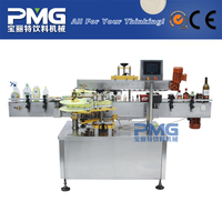 High Quality Automatic Round Bottle Labeling Machine and Bottle Filling Capping
