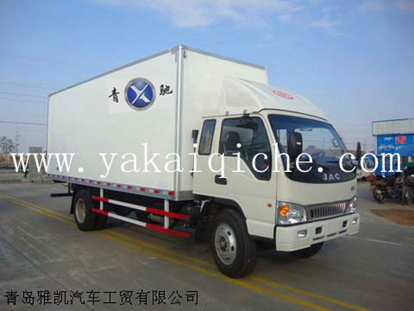 truck body of refrigerator van