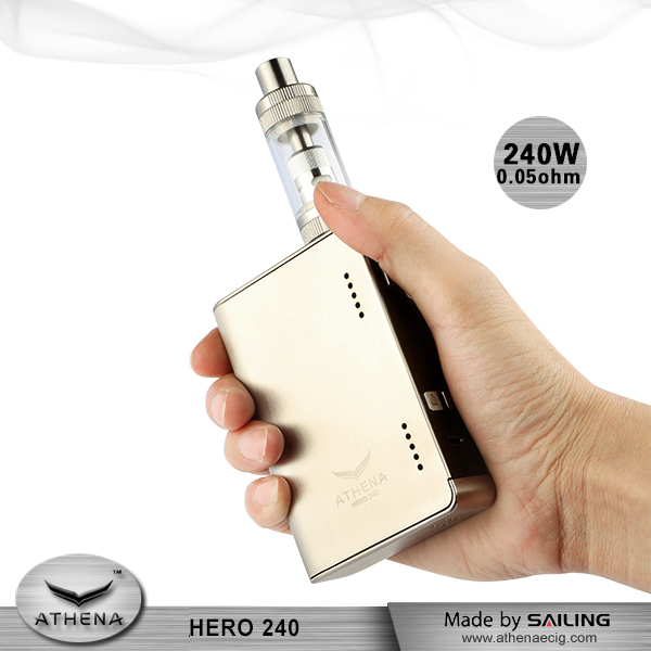 Online shopping india electronic cigarretes Athena 240W box mods vape TC vaping