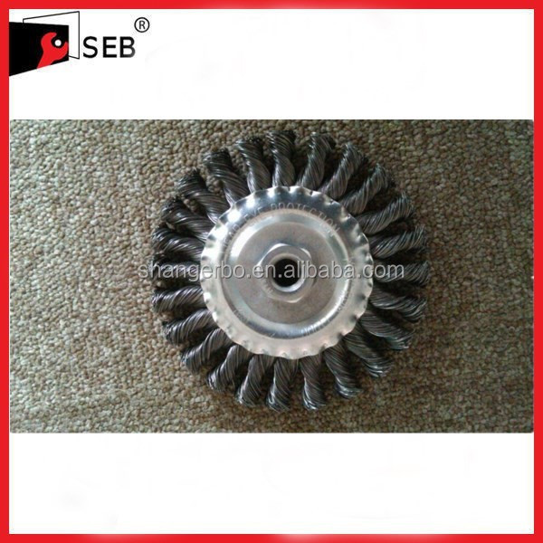 "8"" Twisted wire circular brush"