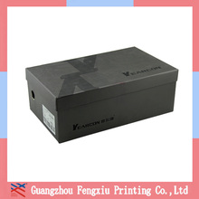 Hot selling strong cardboard shoe box /giant shoe box/basketball shoe box