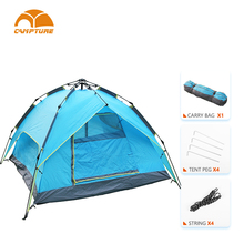 Easy Up Tent Custom Print Affordable Best Family Waterproof Pop Up Camping Tents For Sale