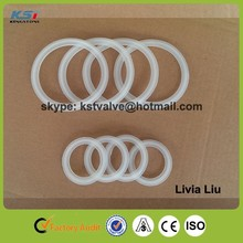 "3"" Food grade factory sale sanitary tri clamp silicone rubber gaskets"