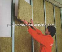 sound proof rockwool wall insulation for building material