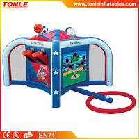 inflatable New Sports Mania/ interactive 4 in 1 inflatable sport game for kids