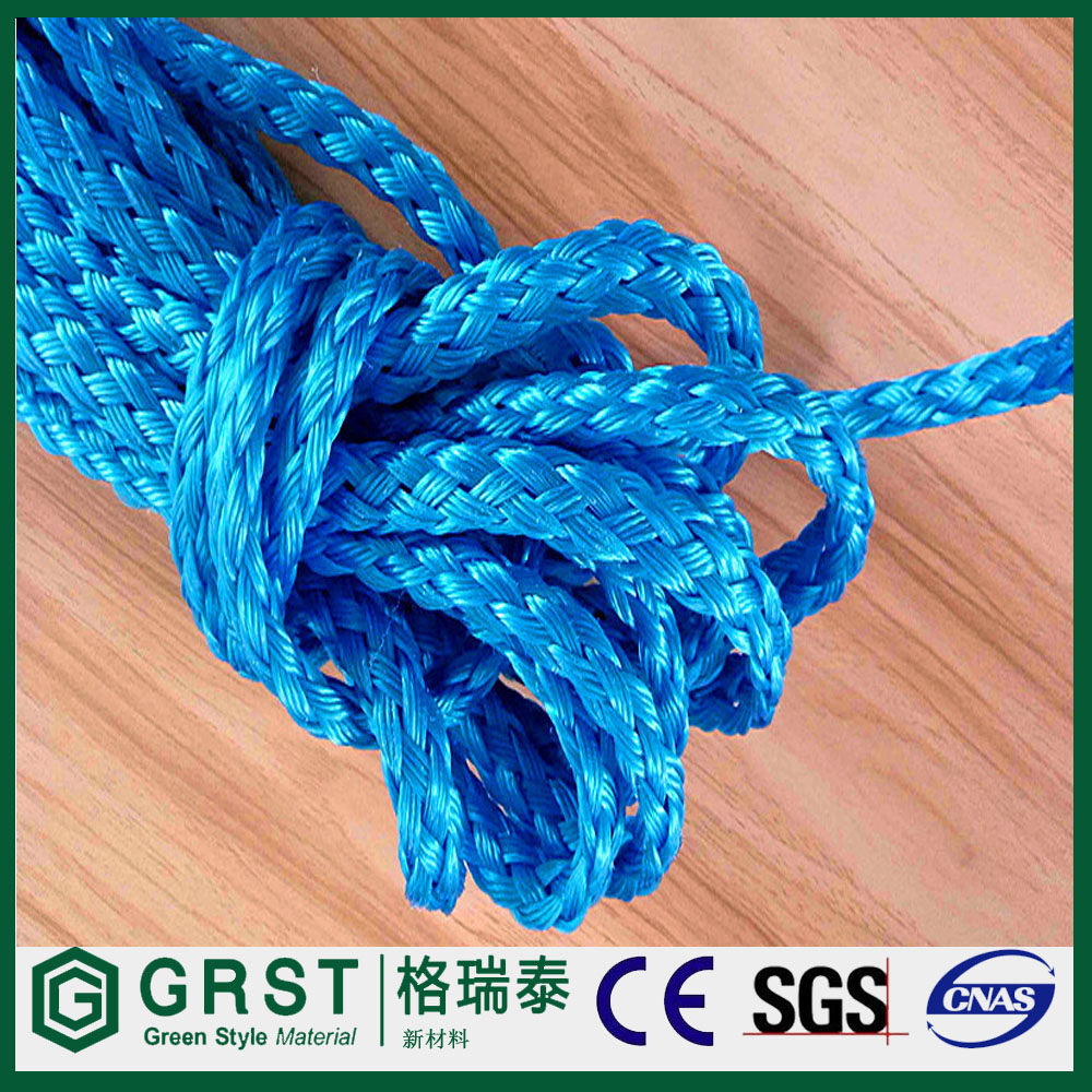 Polyamide double weave safety rope
