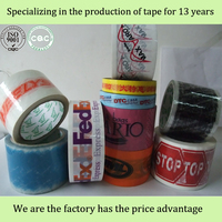 custom printed packing tape manufacture price