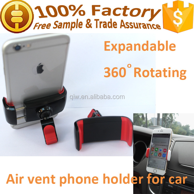 2017 trending products retractable car air vent phone holder