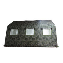 large pvc camouflage inflatable army tent for outdoor camping