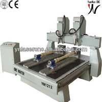 YN1212 wood stair cnc router with multi function
