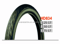 High Quality Wholesale Rubber Motorcycle Tyre2.25-17 For Sales