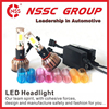 electric 2400lm car led CREE headlight double led car light conversion kit with 24W