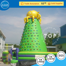 Big octopus inflatable sports games climbing rock climbing equipment for sale