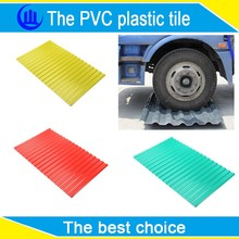 Anti corrosion heat shield thermal insulation pvc plastic roof tiles