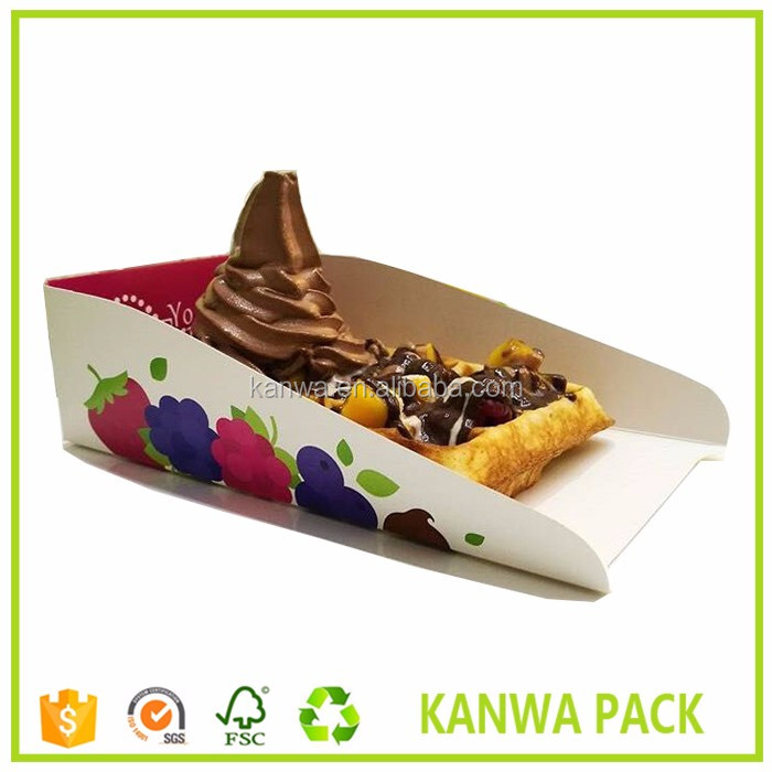 food packaging trays, waffle packaging, disposable food trays