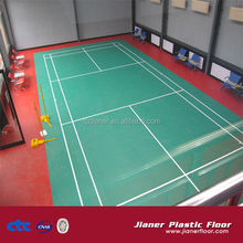 3.5mm-12mm thickness Indoor Badminton Court PVC Vinyl Flooring