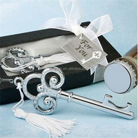 Key to My Heart Collection Key Design Bottle Opener wedding Favors DHL Freeshipping