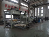 4 feet veneer rotary cutting lathe/ wood peeling machine in plywood factory