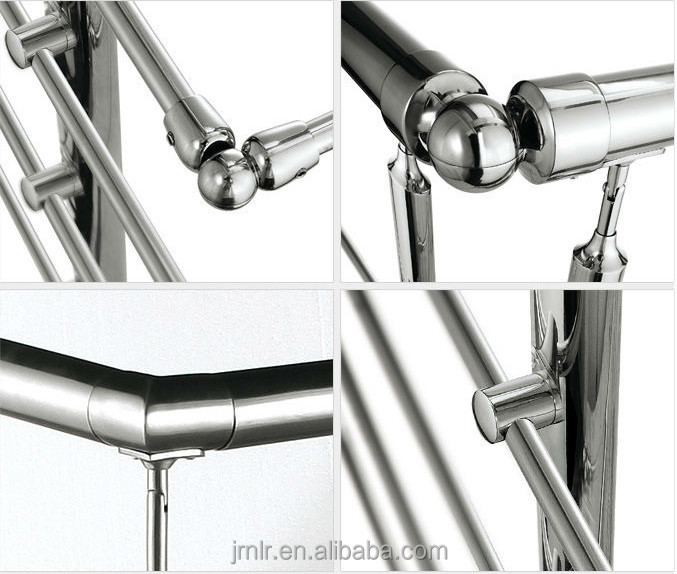 Stainless Steel Adjustable Elbow Handrail Connector