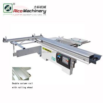 F90 Woodworking sliding table cutting panel saw machine