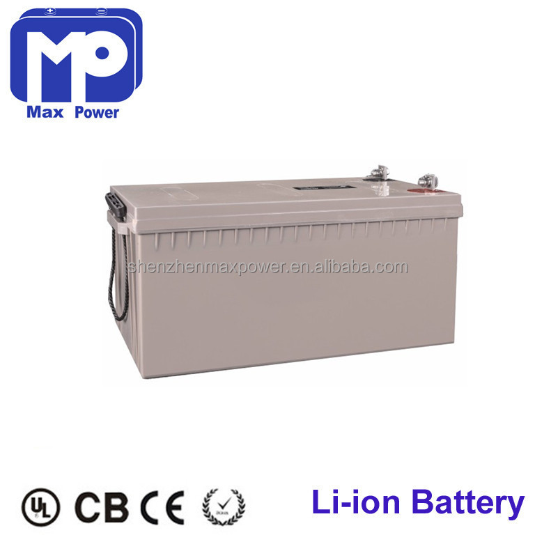 Lead acid battery replacement Pro-enviroment 24V100Ah solar lithium lifepo4 battery