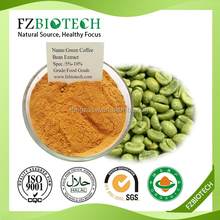 Bulk powder green coffee bean extract, Free Sample Medical grade Green coffee bean extract