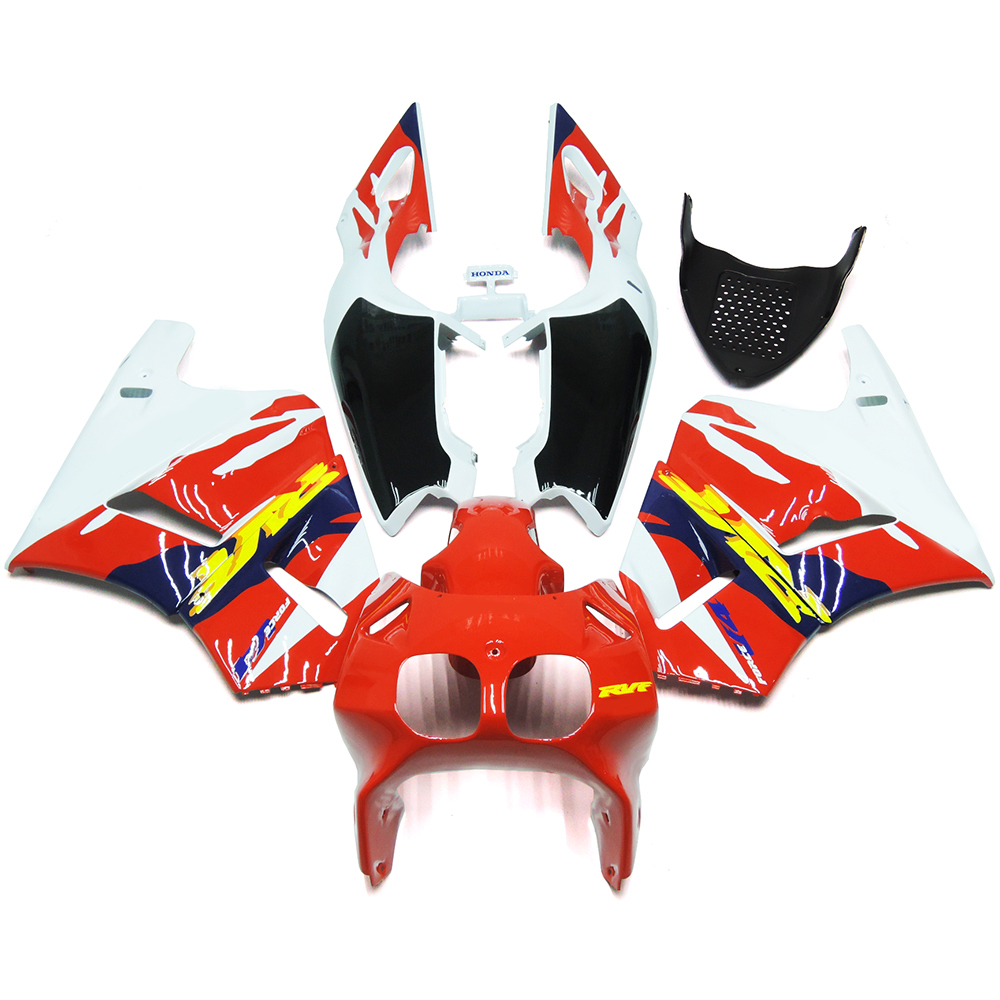 Injection Fairing Kit For Honda RVF400 NC35 V4 93 94 Year 1993 - 1994 ABS Plastic Motorcycle Red White Black