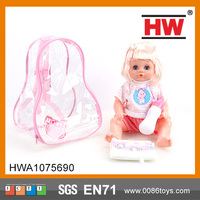 Most Popular 16 inch Baby Girl Doll with IC Pee Doll baby doll