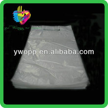 Yiwu custom transparent ldpe plastic bread wicket bag