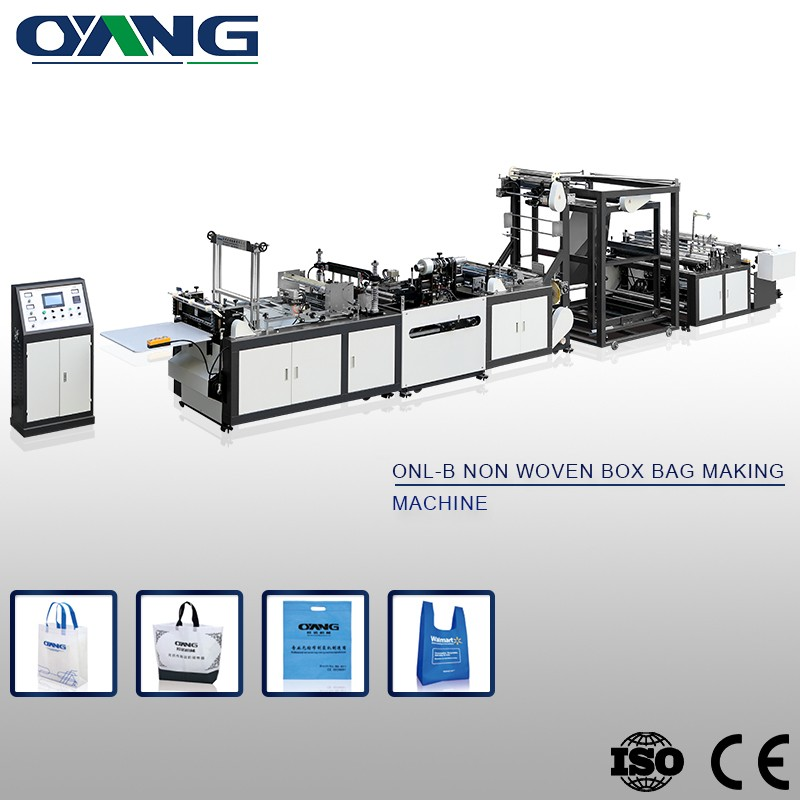 Hot sale China Professional make low price non woven bag making machine