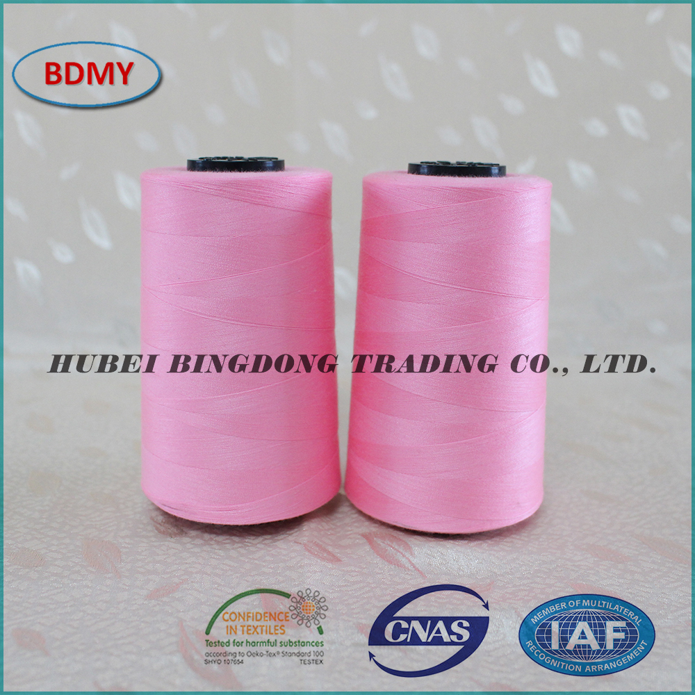 145g CIF term 30/2 polyester sewing thread