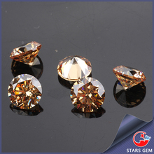 colored round cut synthetic stones cubic zirconia price for cz ring