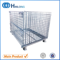 Stainless Metal Steel Safety Food Storage Wire Mesh Container