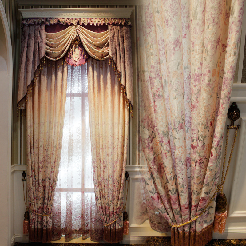 2017 good fabric & competitive price wholesale home curtain