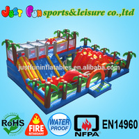 Jurassic inflatable fun city,big inflatable games,inflatable toys for sale