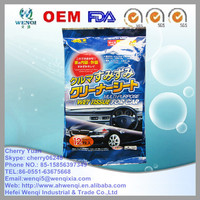 New product of 2015 Car cleaning wet wipes