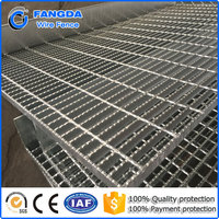 ISO 9001:2008 Hot dip Galvanized catwalk steel grating